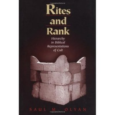 Product picture Rites and Rank: Hierarchy in Biblical By  Saul M. Olyan