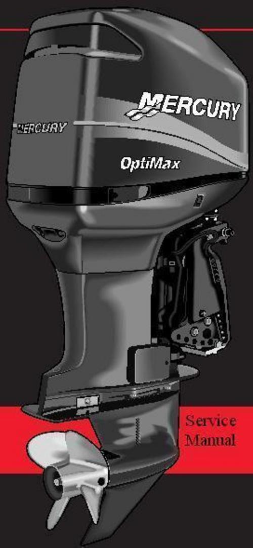 Product picture Mercury Mariner (outboard) 30-40 (4-stroke) Model Service Manual